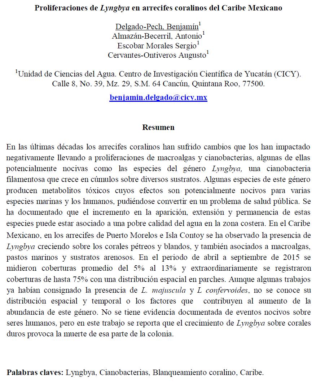 Envío de resúmenes | Sociedad Mexicana para el estudio de los ...